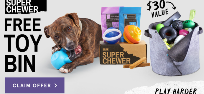 BarkBox Super Chewer Coupon: Get FREE Gift With Subscription!