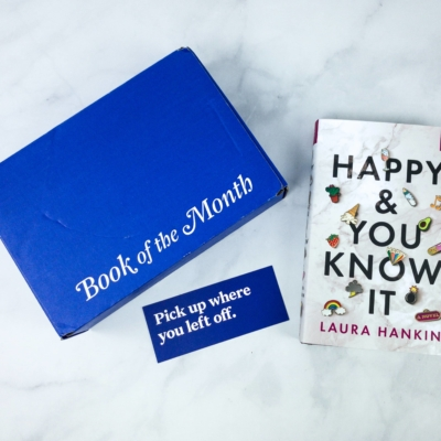 Book of the Month May 2020 Subscription Box Review + Coupon