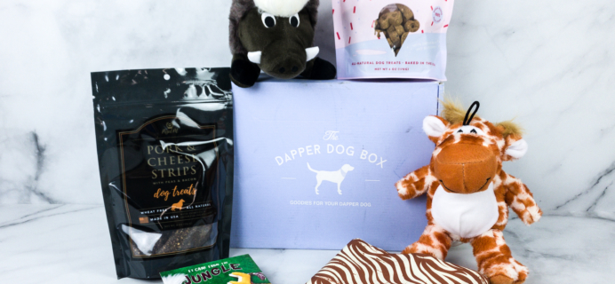 The Dapper Dog Box May 2020 Subscription Box Review + Coupon