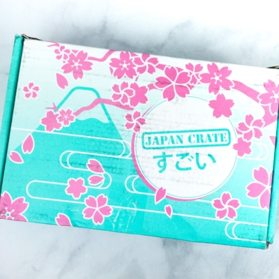 Japan Crate April 2020 Subscription Box Review + Coupon
