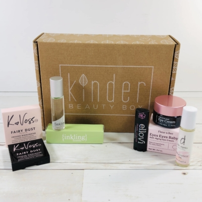 Kinder Beauty Box April 2020 Review + Coupon!
