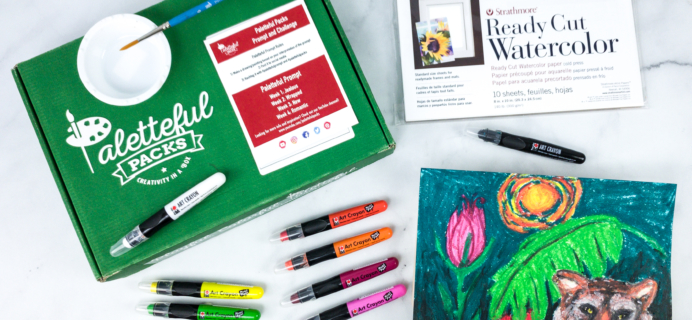 Paletteful Packs Review + Coupon – Marabu Art Crayons