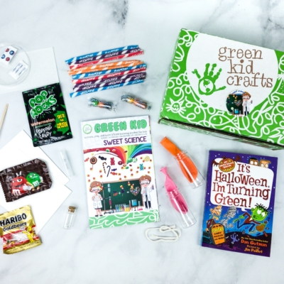 Green Kid Crafts SWEET SCIENCE Subscription Box Review + 50% Off Coupon!