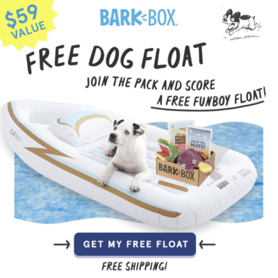 BarkBox Coupon: FREE Funboy Dog Float!