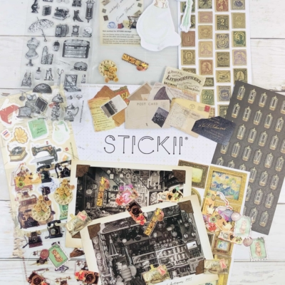 STICKII Club May 2020 Subscription Box Review – Retro Pack!