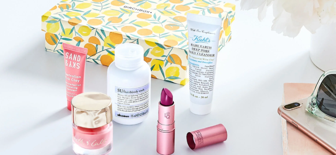 Birchbox Updates + June, July, August 2020 Spoilers + Coupons!