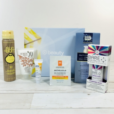 Target Beauty Box Review May 2020 – Sunscreen Queen