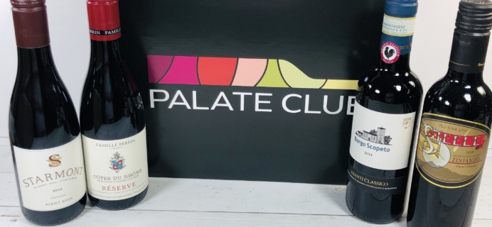 Palate Club May 2020 Subscription Box Review + Coupon – Red Wine Tasting Kit