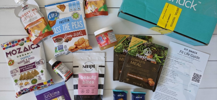 FitSnack May 2020 Subscription Box Review