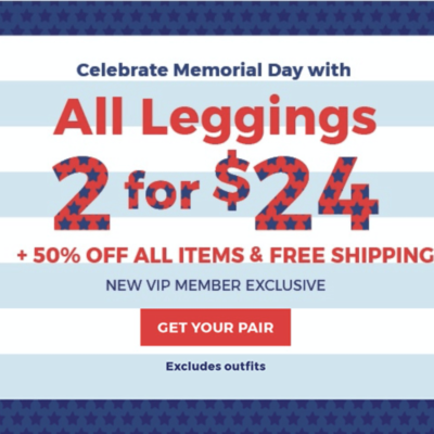 Fabletics Memorial Day Sale: Get 50% Off Select Items + New Members 2 Leggings for $24!