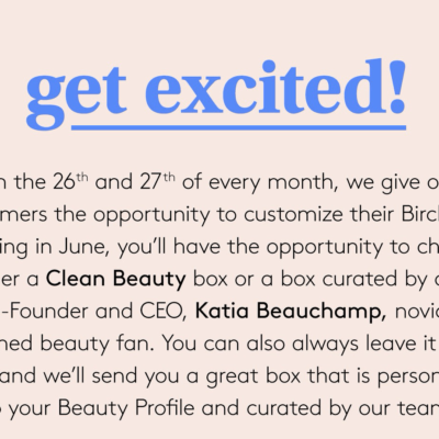 Birchbox June 2020 Curated Box Spoilers + Subscription Update!