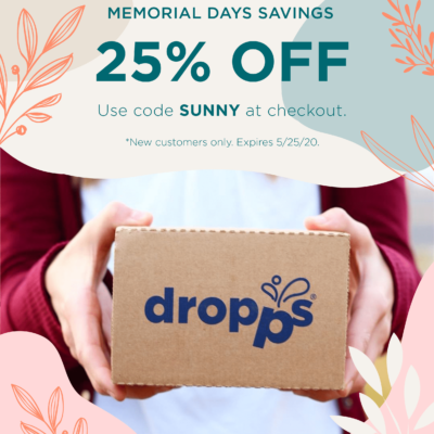 Dropps Memorial Day Sale: Get 25% Off Sitewide!