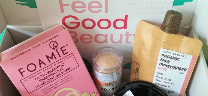The Vegan Kind Subscription Beauty Box Review + Coupon – Box #27 April and May 2020