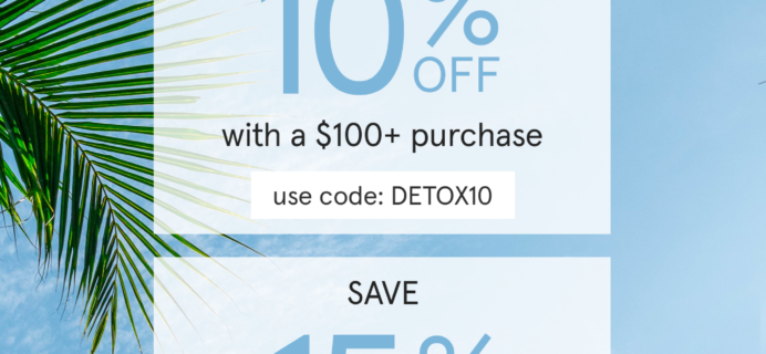 The Detox Market Memorial Day Sale: Get Up To 15% Off!