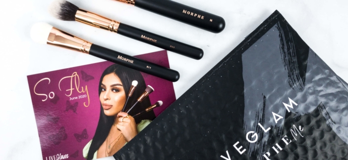 MorpheMe Brush Club June 2020 Subscription Box Review + Free Brush Coupon!