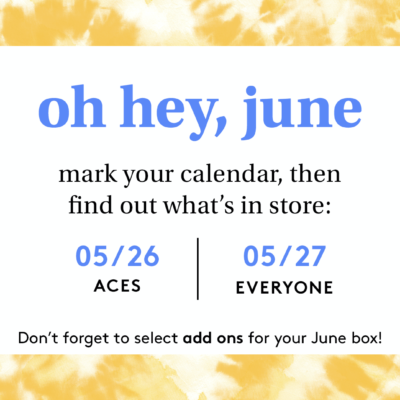 Birchbox June 2020 Selection Time!
