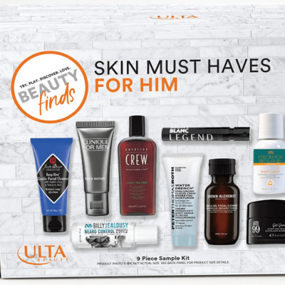 Father's Day Gift Idea: Skin Must Haves For Him – New Ulta Sample Kit Available Now!