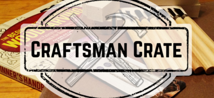 Craftsman Crate – Review? Crafts Subscription + Coupon!
