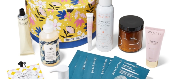 Birchbox Limited Edition Spa Day Box Available Now + Coupon!