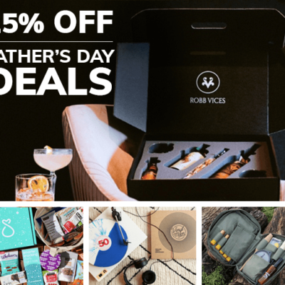 Cratejoy Father's Day Sale: Save 25% On First Month of 4+ Subscription Box Gifts for Dad!
