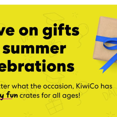 KiwiCo Summer Sale: Get 40% Off First Box or $10 Off Subscriptions!