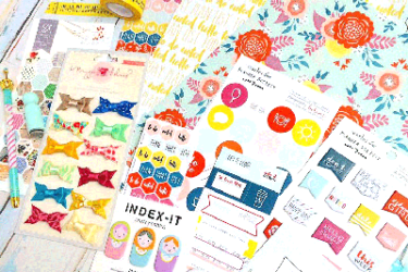 Scarlet Lime Planner Society Kit Club