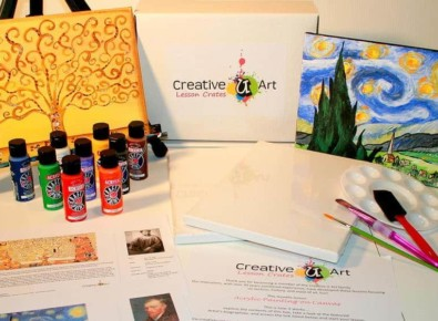 Art Lesson Crate