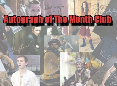 Autograph of the Month Club