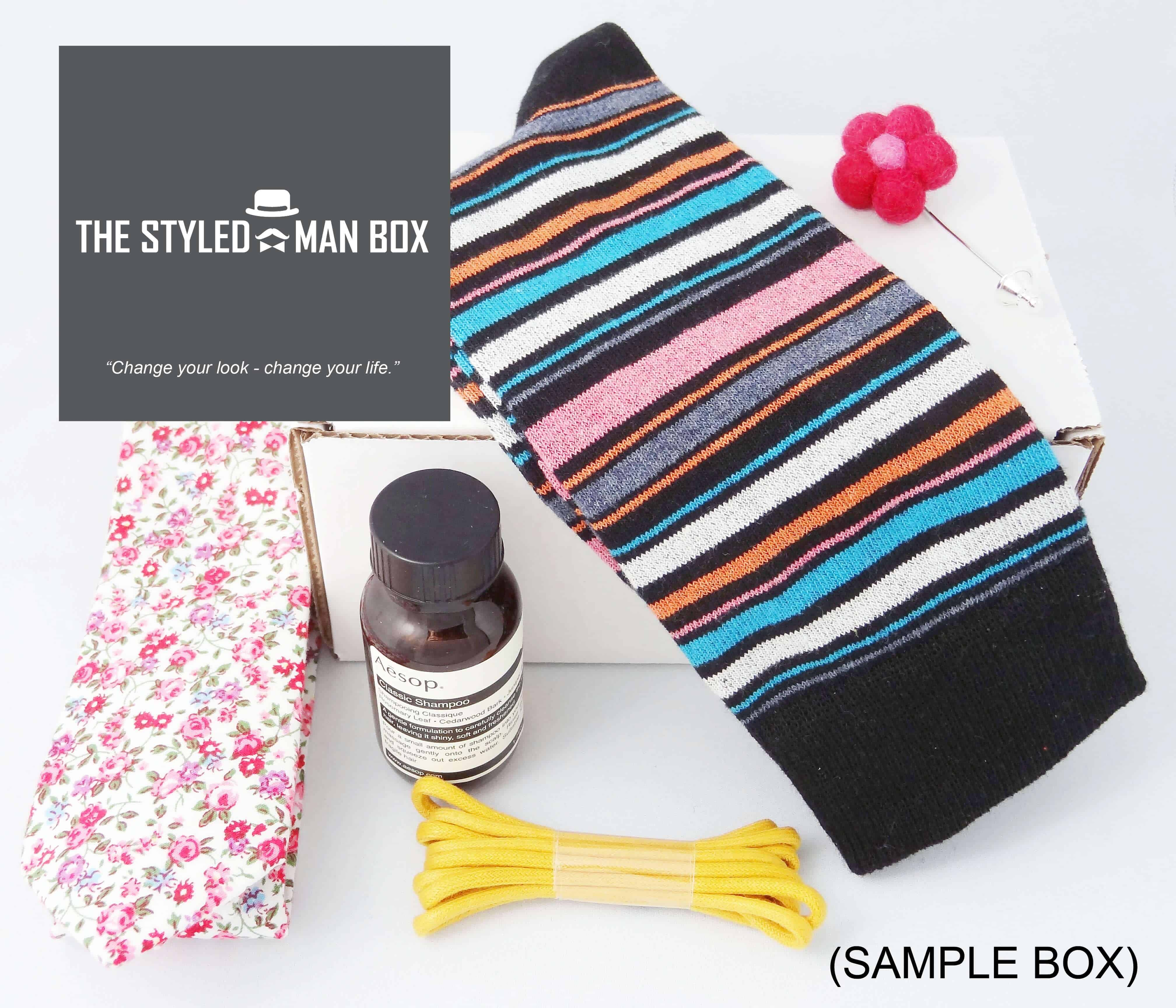 The Styled Man Box