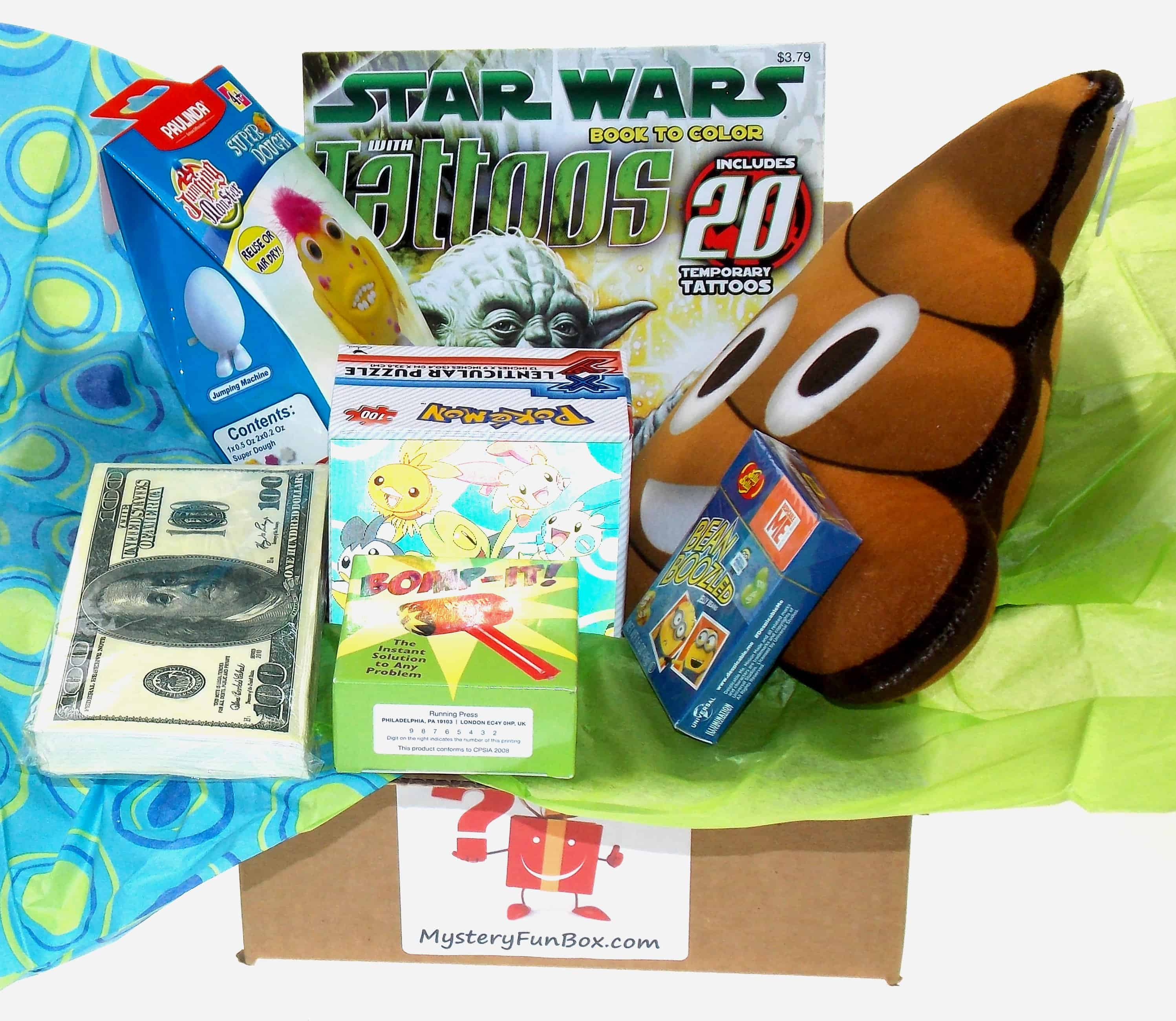 Boy's Mystery Fun Box