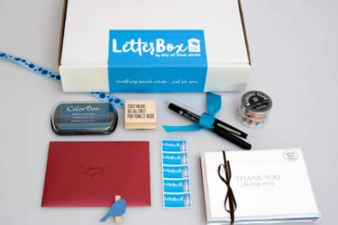 LetterBox by Sky of Blue Cards