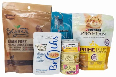 Amazon Purina Cat Food Sample Box