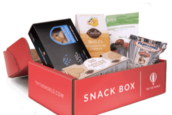 Try The World Snack Box