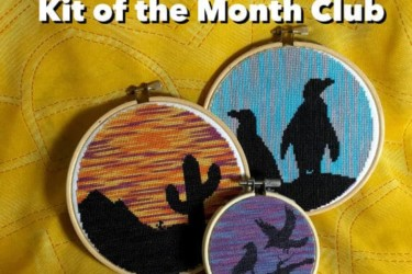 Mad XStitcher Kit of the Month Club
