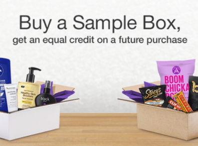Amazon Prime Sample Boxes
