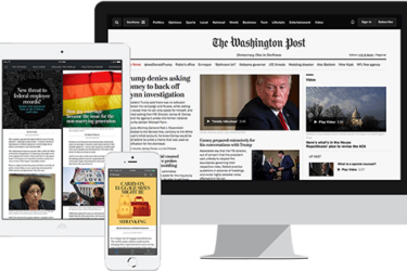 Amazon The Washington Post Digital Access