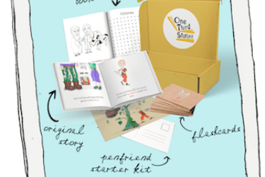 Language Learning Story Box