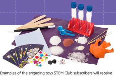 Amazon STEM Toy Club