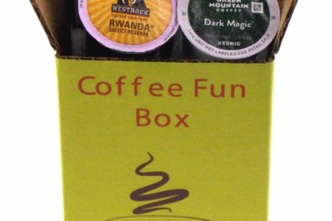 Dark Roast Coffee Mystery FUN Box: 15 K-Cups