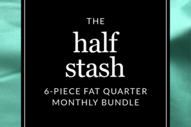 Fridays Off: The Half Stash 6-piece Fat Quarter Monthly Bundle