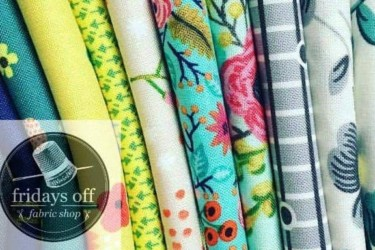 Fridays Off: The Full Stash 12-piece Fat Quarter Monthly Bundle