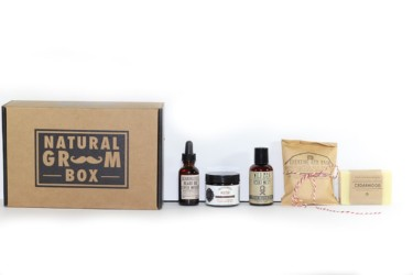 Natural Groom Box