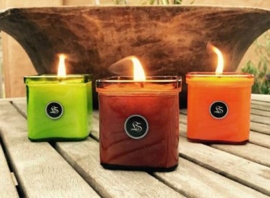 Lovespoon Candles