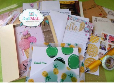 Snail mail greeting cards hello subscription snail mail greeting cards m4hsunfo