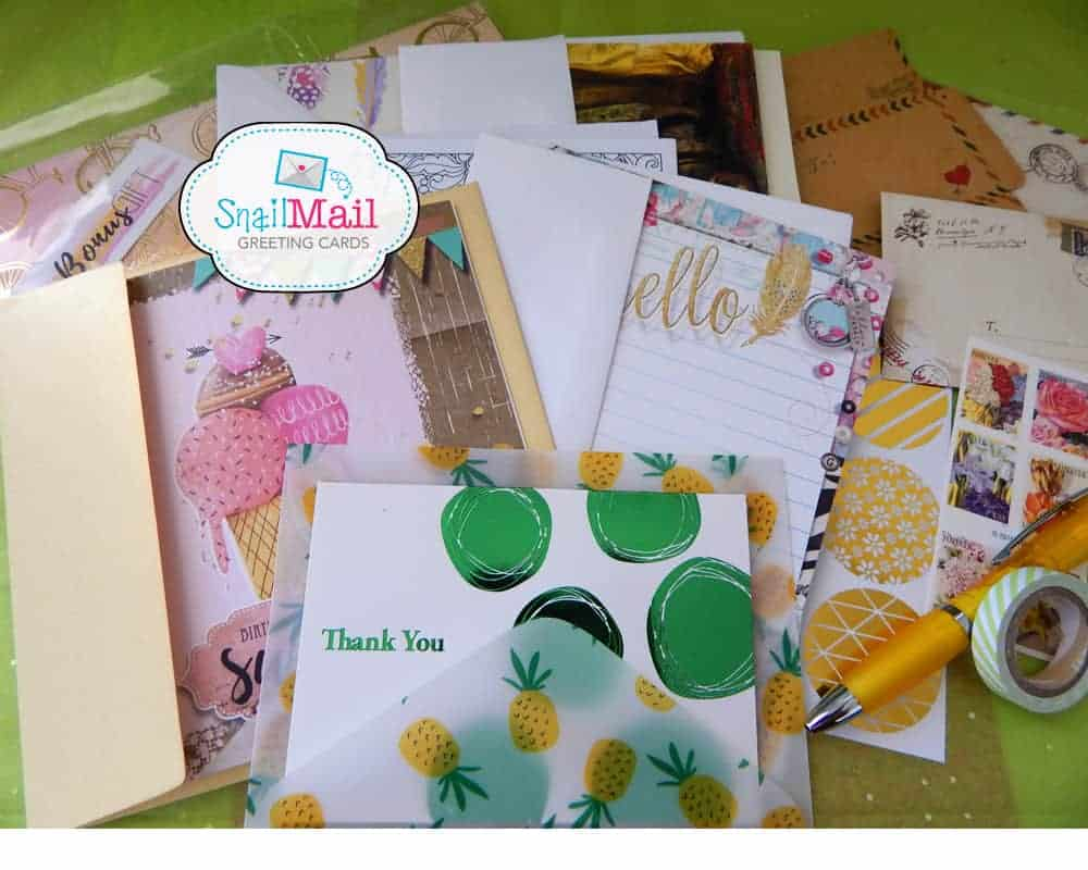 Snail Mail Greeting Cards Hello Subscription