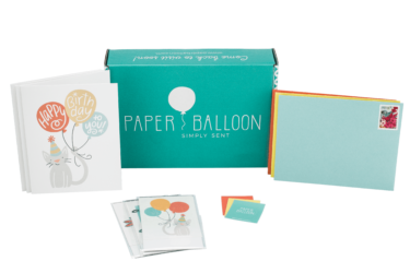 Paper Balloon Greetings