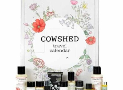 Cowshed Travel Countdown Calendar