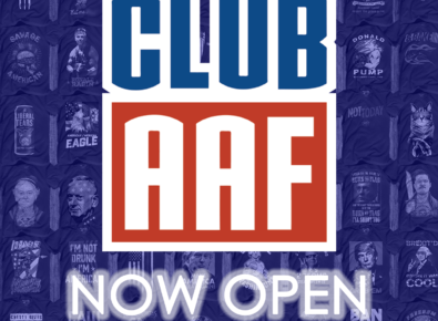 Club AAF – American AF Shirt of the Month Club