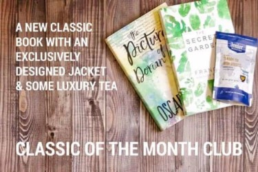 Bookishly's Classic Book of the Month Club