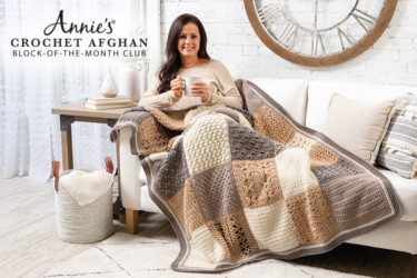 Annie's Crochet Afghan Block Of The Month Club